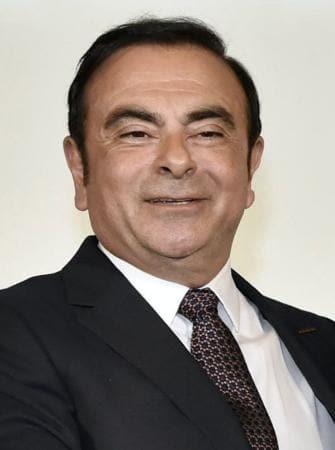 日産自動車のカルロス・ゴーン社長
