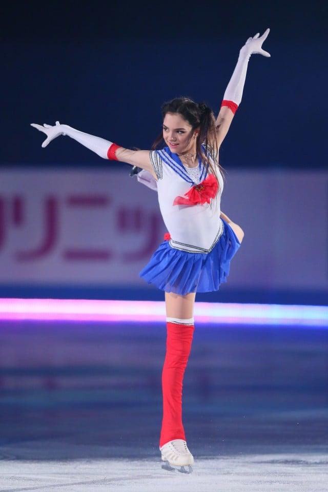 ロシアの「美少女戦士」!?エフゲニア・メドベージェワ選手