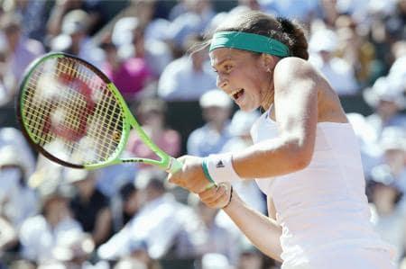 女子テニスの新星!20歳のエレナ・オスタペンコ選手