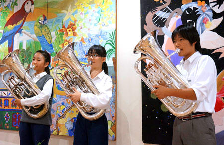 ユーフォニアム、人気楽器に一転 アニメ効果で吹奏楽部
