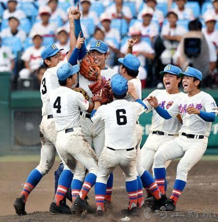 第99回全国高校野球選手権大会 初優勝!!埼玉の星「花咲徳栄高校」!!