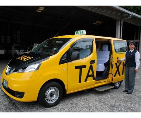 バンタイプのタクシー