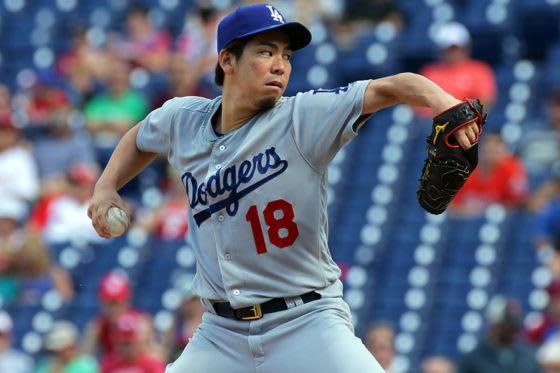 ドジャースで活躍する前田健太選手
