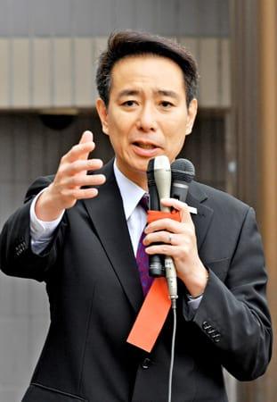 前原氏、滋賀で「希望」の応援演説 合流に理解求める