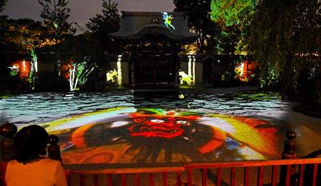 ねねの生涯、闇夜に浮かぶ 京都・高台寺で夜間点灯
