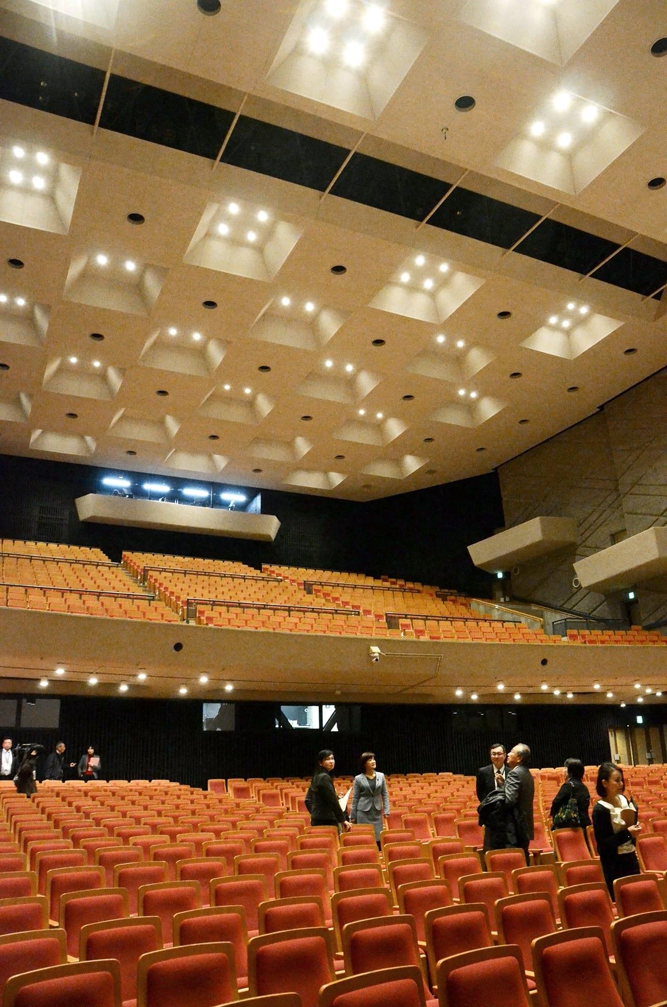 改修工事が終わった熊本市民会館シアーズホーム夢ホール