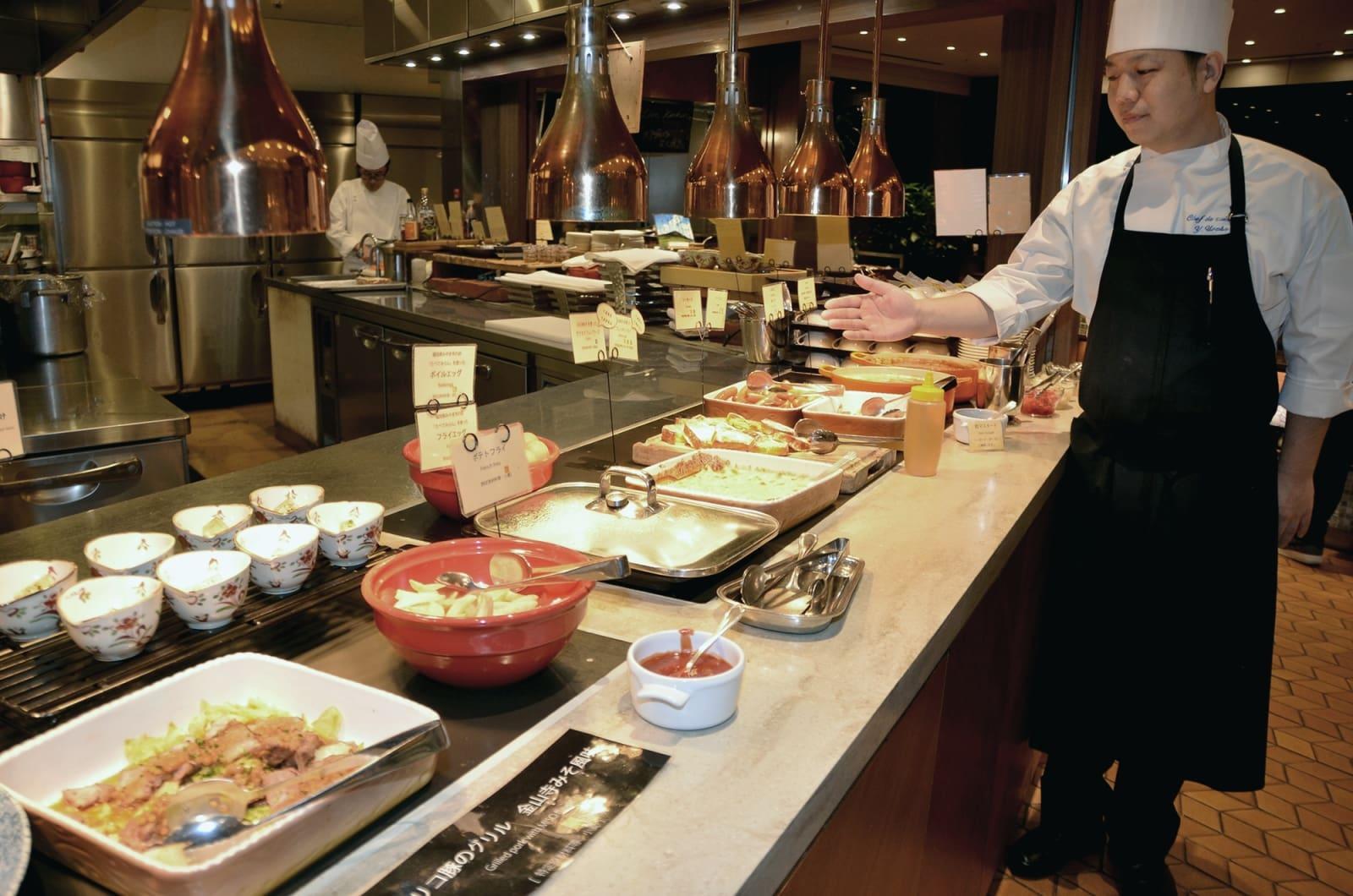 ホテル日航熊本が宿泊者に提供している朝食メニュー