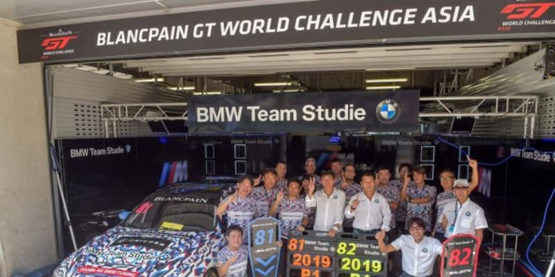 ブランパンGTアジア:最終ラウンド上海で初代王者決定。砂子塾長がGT4チャンピオンに