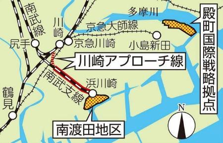 南渡田に新産業拠点を形成へ 川...