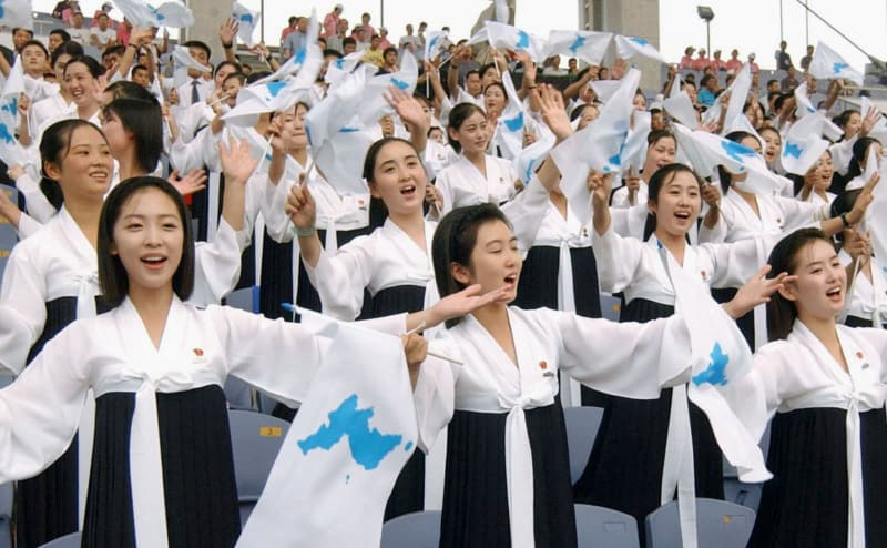 北朝鮮、韓国選手も応援へ 融和...
