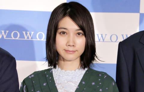 WOWOWのドラマ「ドラマW 食い逃げキラー」の記者会見に登場した松本穂香さん