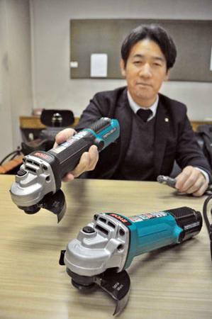 京セラインダストリアルツールズの新製品コード着脱式ディスクグラインダー(京都市中京区)