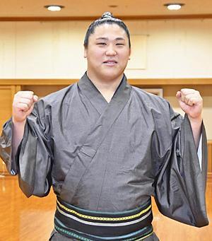若隆景「新十両」昇進決まる 9年...