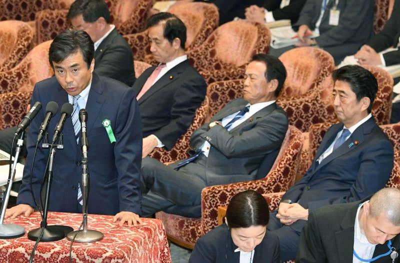 元首相秘書官の喚問要求へ 6野党...