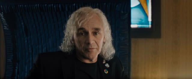 映画『レディ・プレイヤー1』より、マーク・ライランスが演じたオアシスの創設者ジェームズ・ハリデー - (C) 2018 WARNER BROS. ENTERTAINMENT INC. ALL RIGH