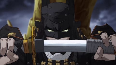 アニメ「ニンジャバットマン」の一場面 Batman and all related characters and elements are trademarks of and (C)DC Comics