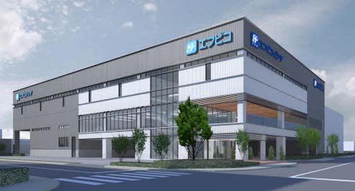 エフピコが新築するビルのイメージ
