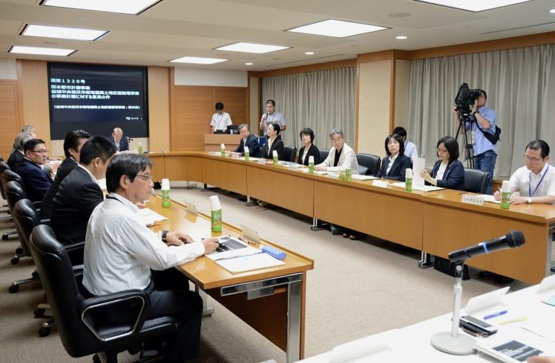 益城区画整理、認可申請へ 熊本...