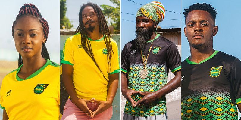 ジャマイカ代表、2018新ユニフォ...