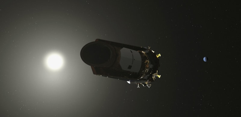 ケプラー宇宙望遠鏡が引退 太陽...