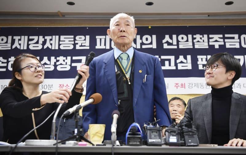 政府、徴用工問題で韓国に警告 「企業実害なら対抗措置」 | 共同通信