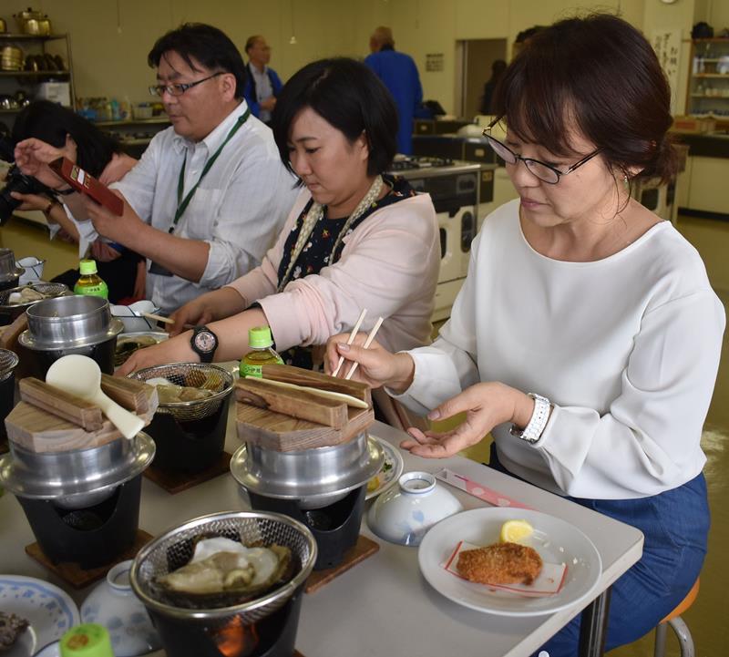 特産磯ガキ味わって 6月1日から祭り 旭・飯岡