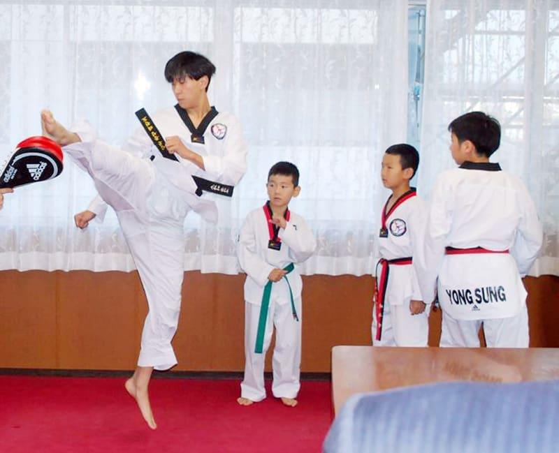 テコンドー「日本一に」 Jr.選手権4人出場へ 八千代の小中学生