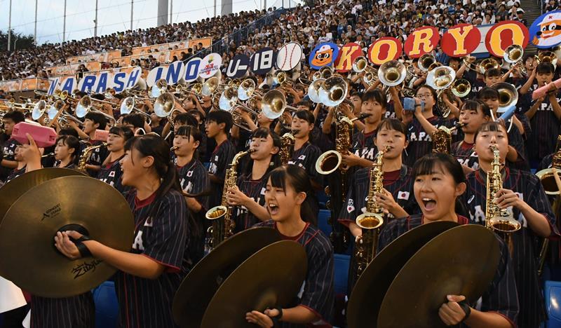 習志野と紅陵、吹奏楽の名門がタッグ 未来の侍ジャパン演奏で後押し U18壮行試合