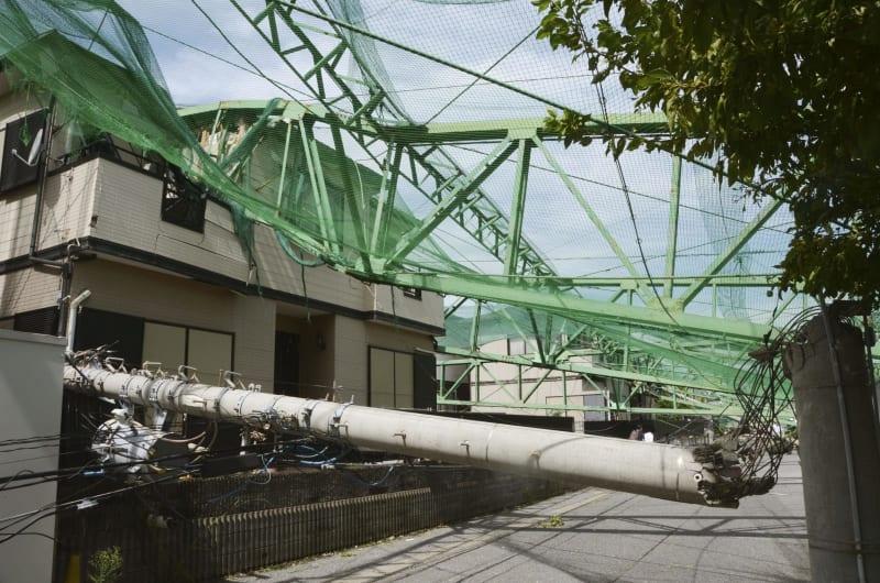 台風15号、激甚災害指定へ 8~9月の大雨も、近く閣議決定