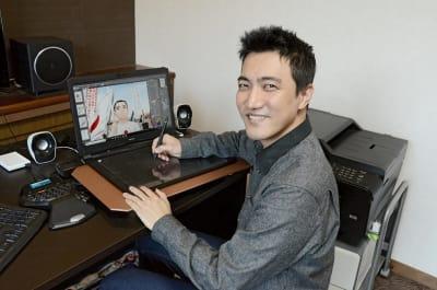 漫画「KANAKURI」の作画を担当する岩田紘典さん