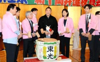 若隆景関の活躍に期待 福島で新...