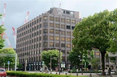 移転する方向で検討されているNTT西日本の桜町ビル