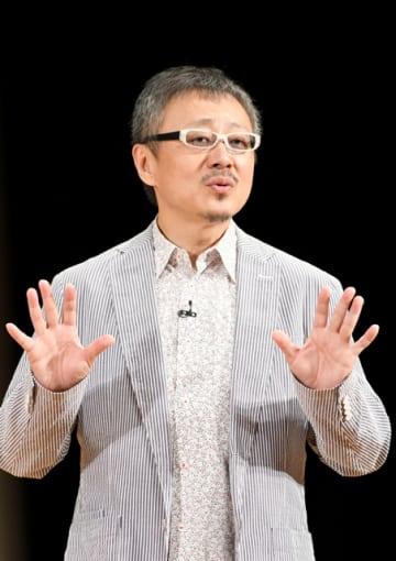 ストレスについて語る松尾貴史さん
