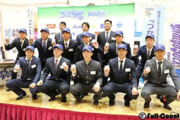 四国アイランドリーグ(IL)plus、徳島インディゴソックスの新入団会見【写真:編集部】