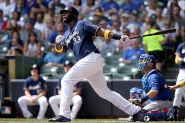 ヤンキースとの契約合意が報じられたクリス・カーター【写真:Getty Images】