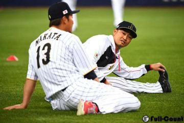 侍ジャパン・中田翔(左)と青木宣親(右)【写真:Getty Images】