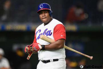 キューバ代表のデスパイネ【写真:Getty Images】