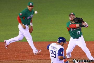 メキシコ代表のクルーズ(左)とキロス(右)【写真:Getty Images】