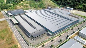 機械設備などを全面移設する御坊工場