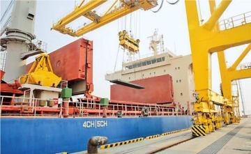 厚板の生産拠点である唐津工場で開催チ