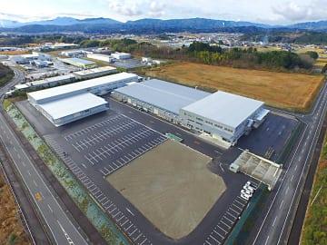 移転を終えた新本社・工場