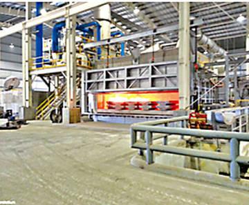 米国マッスルショールズ工場(アラバマ州)に使用済みアルミ缶(UBC)用溶解炉