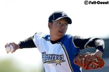 日本ハム・斎藤佑樹【写真:田口有史】