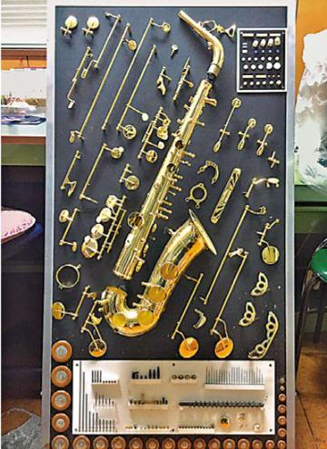 1台で600個もの部品が使われる(柳澤管楽器提供)