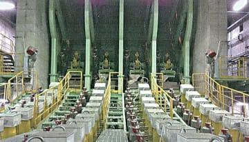 韓国・現代製鉄へブルーム連続鋳造機を納入