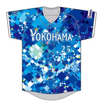 「YOKOHAMA STAR☆NIGHT 2017」で選手が着用するスペシャルユニフォームのデザイン【画像提供:横浜DeNAベイスターズ】