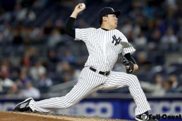 今季4勝目を挙げたヤンキース・田中将大【写真:Getty Images】