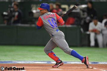WBCキューバ代表のロエル・サントス【写真:Getty Images】