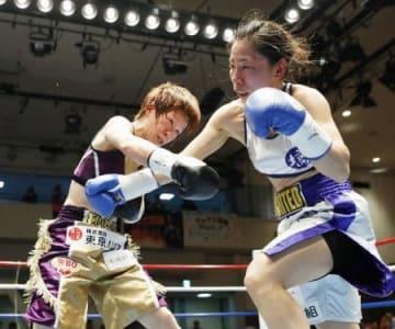 WBO女子、41歳江畑が新王者