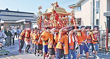 愛知神社の春季大祭
